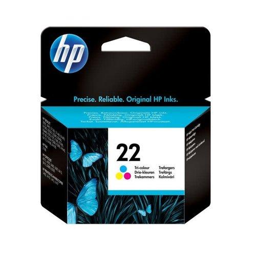 HP Hewlett-Packard HP No. 22 Kleur 5ml (Origineel) C9352AE
