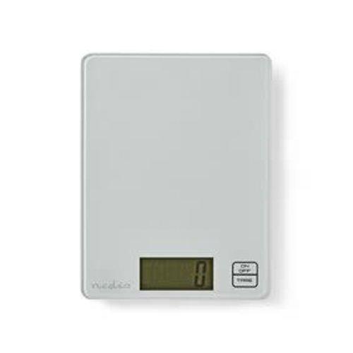 nedis Digitale Keukenweegschaal | LCD | Glas | Wit