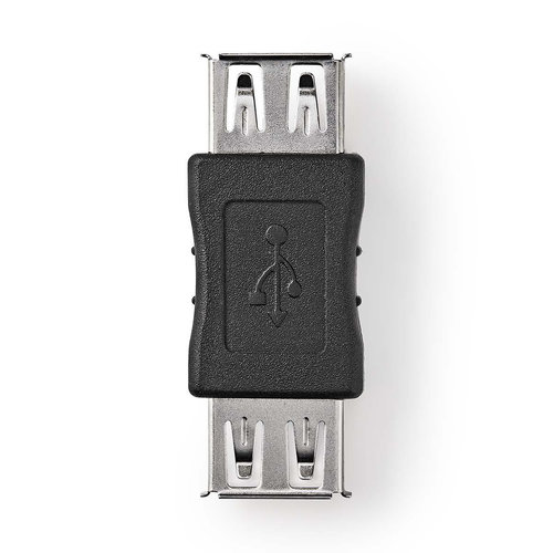 nedis USB 2.0-Adapter / A Female - A Female / Zwart