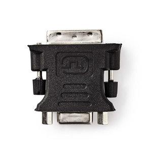 nedis DVI - VGA-Adapter / DVI-I 24+5-Pins Male - VGA Female / Zwart