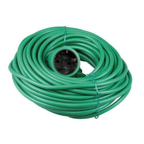 VB Extend Verlengsnoer 20 meter 2x1mm H05VV-F groen