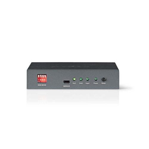 nedis HDMI -splitter / 2-poorts - 1x HDMI -ingang / 2x HDMI -uitgang