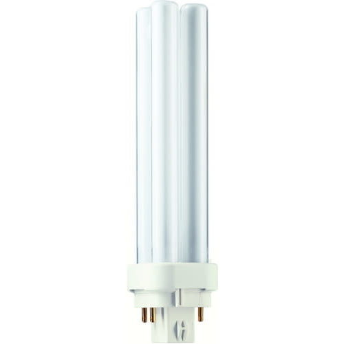 Philips Philips Compact Fluor Plc 18W 827 2700K 4-Pins G24Q-2 Extra Warmwit