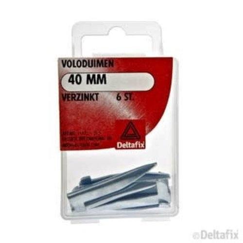 Deltafix VOLODUIMEN 40 MM X  X  VERZINKT 6 ST.