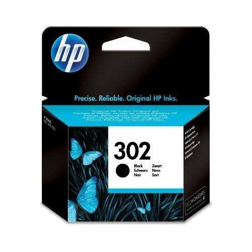 HP Hewlett-Packard HP No.302 Zwart 3,5ml (Origineel) F6U66AE