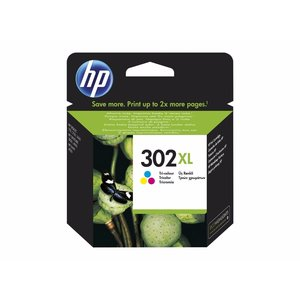 HP Hewlett-Packard HP No.302XL Kleur 8ml (Origineel) F6U67AE