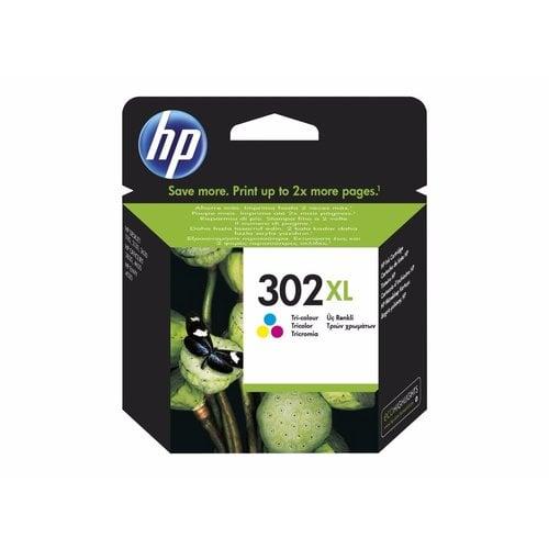 HP Hewlett-Packard HP No.302XL Kleur 8ml F6U67AE