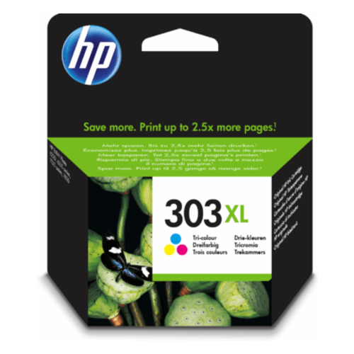 HP Hewlett-Packard HP No.303XL Kleur 10ml T6N03AE    55796