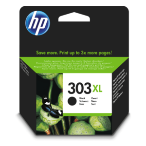 HP Hewlett-Packard HP No.303XL Zwart 12ml (Origineel) T6N04AE
