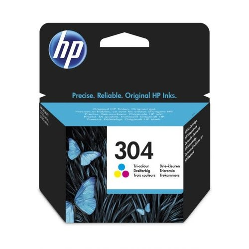 HP Hewlett-Packard HP No.304 Kleur 2ml (Origineel) N9K05AE