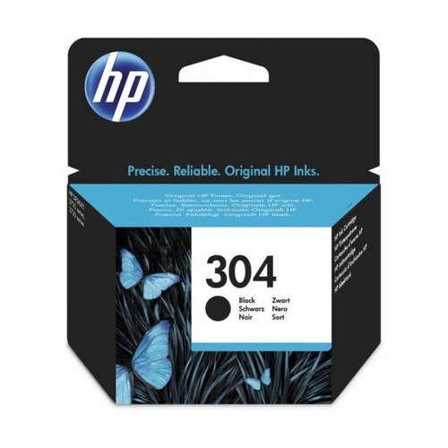HP Hewlett-Packard HP No.304 Zwart 4ml (Origineel) N9K06AE
