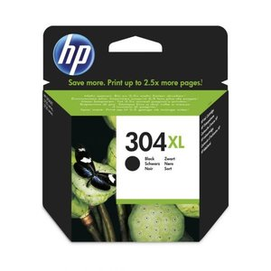 HP Hewlett-Packard HP No.304XL Zwart 5,5ml (Origineel) N9K08AE