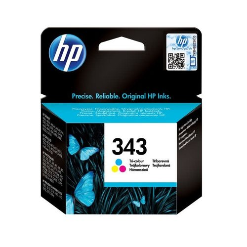 HP Hewlett-Packard HP No.343 Kleur 7ml (Origineel)