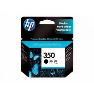 HP Hewlett-Packard HP No.350 Zwart 4,5ml (Origineel)