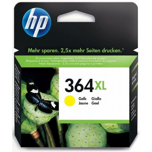 HP Hewlett-Packard HP No.364XL Geel 6ml (Origineel)