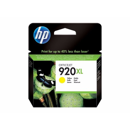 HP Hewlett-Packard HP No.920XL Geel 6ml (Origineel)