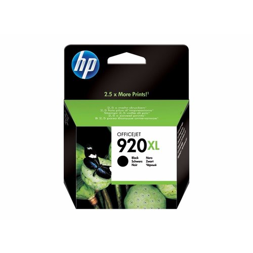 HP Hewlett-Packard HP No.920XL Zwart 49ml (Origineel)