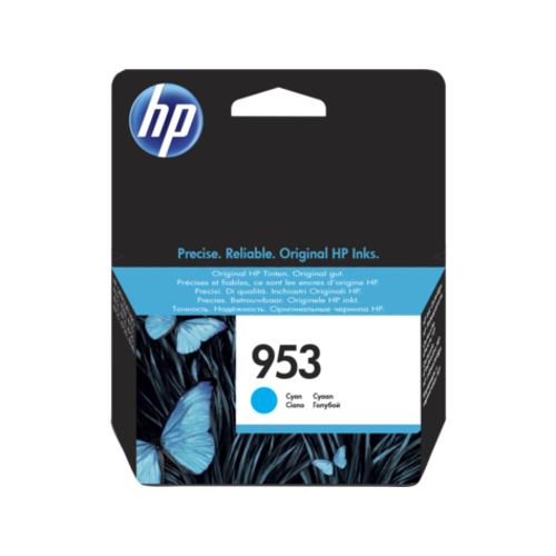 HP Hewlett-Packard HP No.953 Cyaan 10,0ml (Origineel) F6U12AE