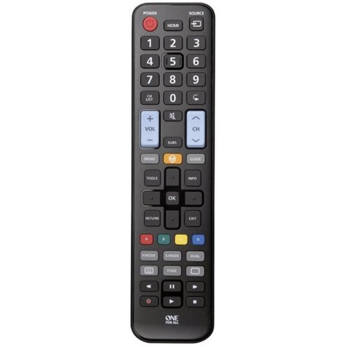 One for All Afstandsbediening Geschikt voor alle Samsung televisies