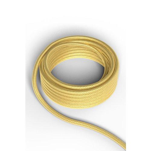 Calex Kabel Kabel metallic goud 2x0,75mm 3m