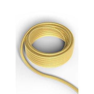 Calex Kabel Kabel metallic goud 2x0,75mm 1,5m