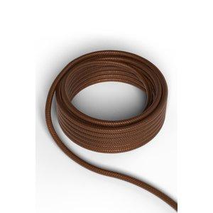 Calex Kabel Kabel metallic bruin 2x0,75mm 3m