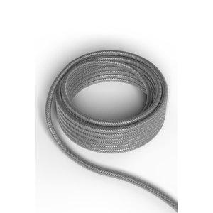 Calex Kabel Kabel metallic grijs 2x0,75mm 3m