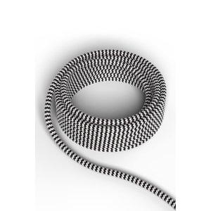Calex Kabel Kabel zwart/wit 2x0,75mm 3m