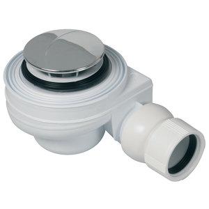 Plieger Douchebaksifon M/Plug 60mm Chr Plieger