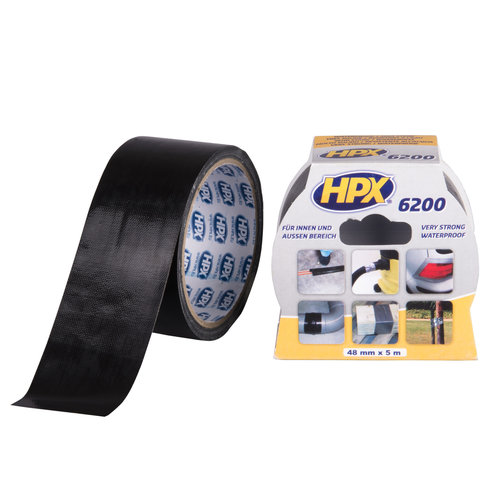 HPX Tape Pantsertape Zwart