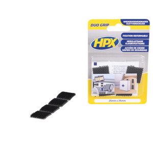 HPX Klikbevestiging Hersluitbare Pads, Zwart
