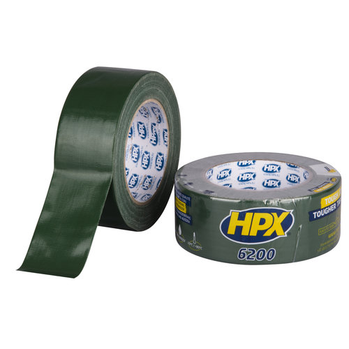 HPX Pantsertape - groen 48mm x 25m