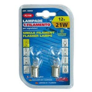 Lampa BA15s lamp 12V 21W