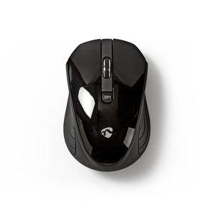 nedis Draadloze muis / 1000 dpi / 3-knops / Zwart