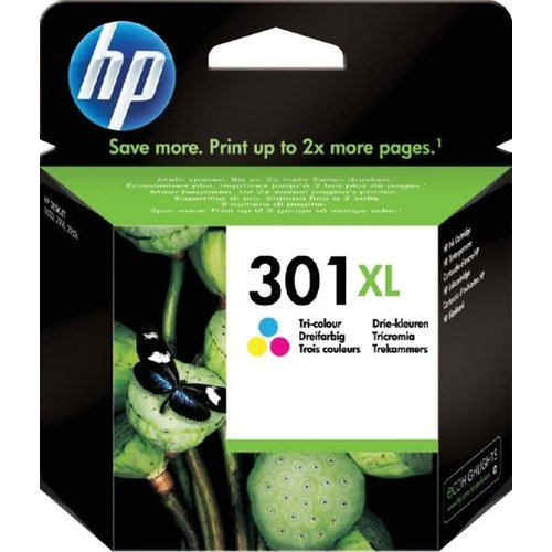 HP Hewlett-Packard HP No.301XL Kleur 6ml (Origineel)