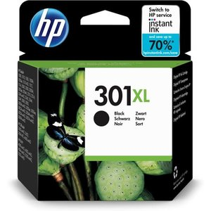 HP Hewlett-Packard HP No.301XL Zwart 6ml (Origineel)