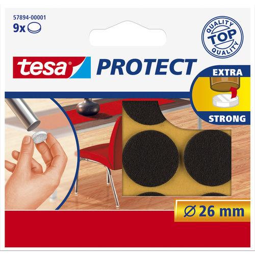 Tesa 26 Mm Tesa Beschermvilt 57894 Bruin