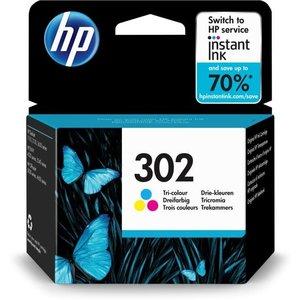 HP Hewlett-Packard HP No.302 Kleur 4ml (Origineel) F6U65AE
