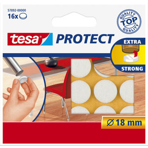 Tesa 18 Mm Tesa Beschermvilt 57892 Wit