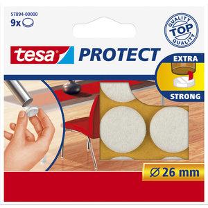 Tesa 26 Mm Tesa Beschermvilt 57894 Wit
