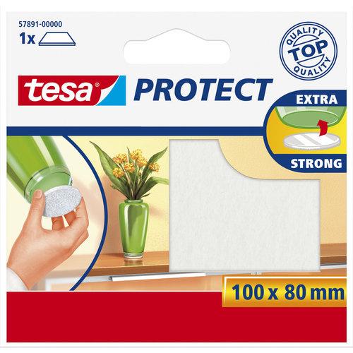 Tesa 80x100 Mm Tesa Beschermvilt 57891 Wit