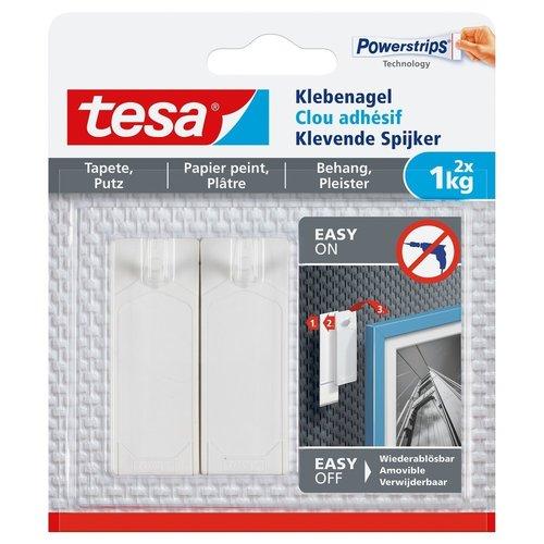 Tesa Tesa Klevende Spijker gevoelige oppervlakken