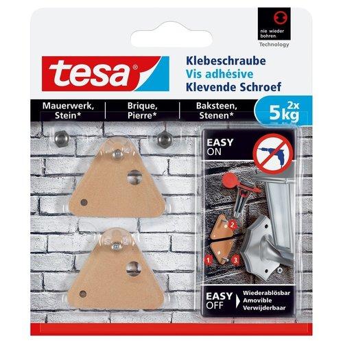 Tesa Tesa Klevende Schroef bakstenen driehoek 77904 5 kg