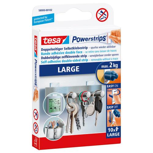 Tesa Tesa Powerstrips Large 10X Sanitair