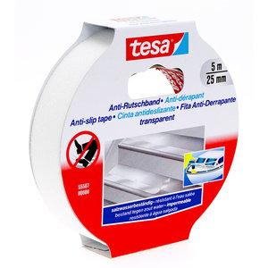 Tesa Tesa anti-slip tape transparant 5 m x 25 mm