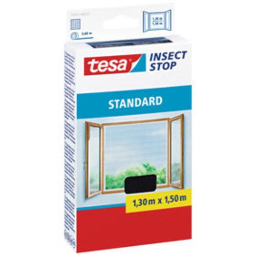 Tesa Tesa Standard raamhor zwart 130 x 150 cm