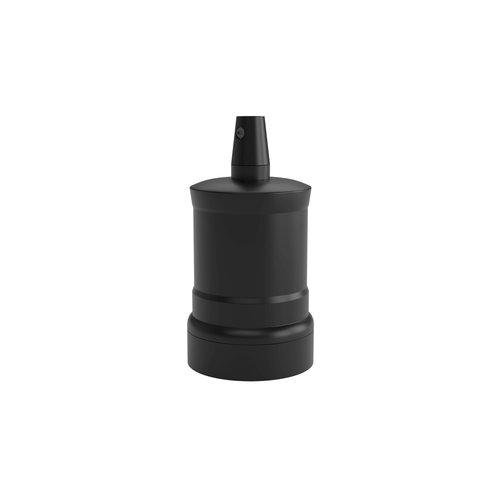 Calex Lamphouder Aluminium lamphouder, piek model M-035, mat zwart