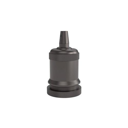 Calex Lamphouder Aluminium lamphouder, piek model M-003, mat parel zwart