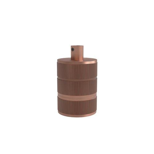 Calex Lamphouder Aluminium lamphouder, 3 rings model, mat koper