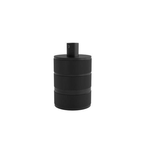 Calex Lamphouder Aluminium lamphouder 3 rings model mat zwart